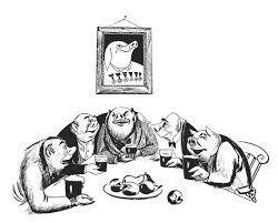 original illustrated animal farm creative review
