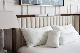 bolster bed pillows yuka deluxe rayon from bamboo bolster memory foam queen pillow