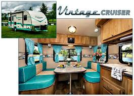 gulf stream introduces vintage cruiser ultra light travel trailers