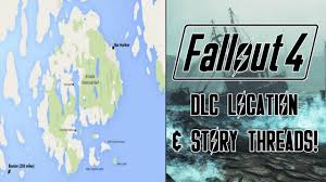 National Harbor Map Fallout 4 Far Harbor Real Life Map Comparison U0026 Story Thread