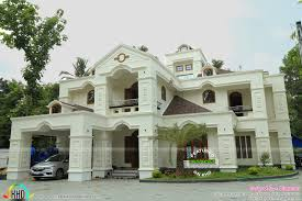 luxury work finished colonial home architecture kerala home