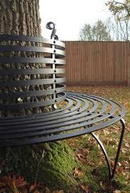 antique wrought iron round garden tree seat tree seat bench seat