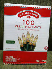 time 100 clear white wedding mini lights string