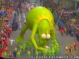 kermit at the macy s parade 1991