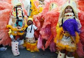 mardi gras indian costumes mardi gras indians hit streets in sunday parade zimbio