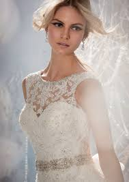 wedding dress with beading morilee bridal beaded lace appliques on tulle wedding dress