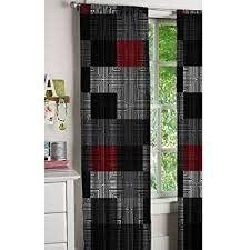 Black Gray Curtains Black And Grey Curtains Great Home Interior And Furniture