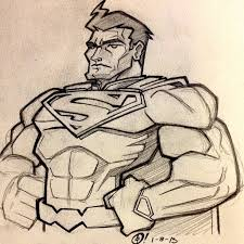 the blot says tracy tubera 2013 super hero sketch a day