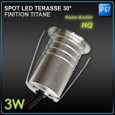 le de terrasse encastrable spot led encastrable terrasse 3w rgb 30 24v dc ip67 led eco