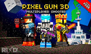 apk hack pixel gun 3d pocket edition 13 5 1 apk mod data android