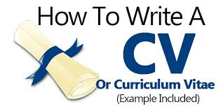 Examples Of How To Make A Resume by How To Write A Cv Or Curriculum Vitae Example Included