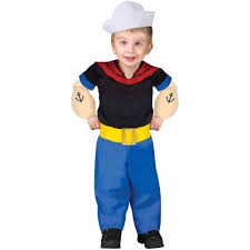 toddler fish costume for halloween popeye toddler halloween costume walmart com