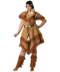 Halloween Costumes Adults Size Indian Maiden Size Costume Women Indian Costumes