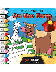 color by number book 9 99 amazon prime 80 pages big color by