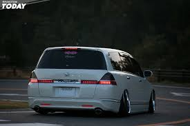 2010 Honda Odyssey Cross Bars by This Is One Badass Jdm Odyssey Honda U0027s For Days Honda