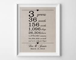 3rd year anniversary gift any or 3 year anniversary gift 3 year wedding anniversary gifts