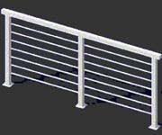 deck railing systems easyrailings aluminum railings aluminum