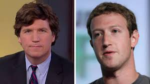 is tucker carlson s hair real tucker carlson on what he learned from meeting with facebook fox