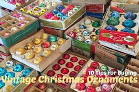 10 tips for buying vintage ornaments from a flea market