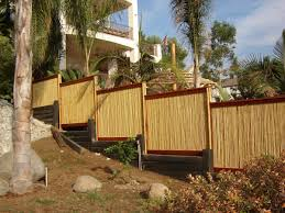amazon com natural rolled bamboo fencing 3 4