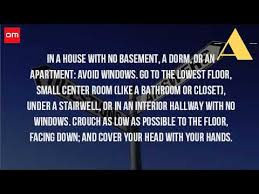 is it safe to be under the stairs during a tornado youtube