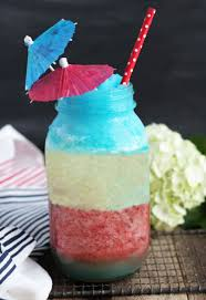 red white and blue pina colada 3 yummy tummies