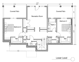 Home Plans With Basement Floor Plans Daylight Basement House Plans Basements Ideas