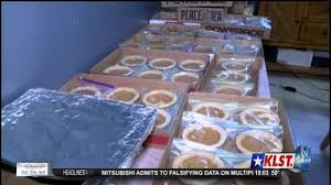 delivered to responders for thanksgiving pie project