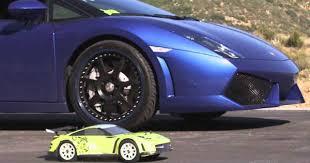 lamborghini rc cars which is faster lamborghini gallardo or an rc car cars