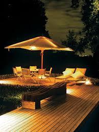 Patio Umbrella With Lights by Patio Umbrella With Led Lights Home Design Inspiration Ideas