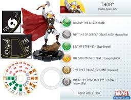 heroclix world hammer of thor fast forces spoilers