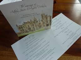 wedding invitations edinburgh uk wedding invitations