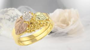 wedding gold rings two tone yellow diamond ring 111450 1000 images