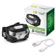 le better lighting experience 3w led headl rechargeable dimmable le