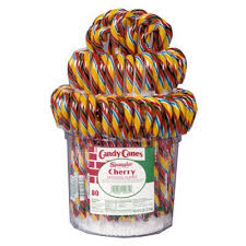 Where To Buy Candy Canes Buy Candy Canes Cherry Rainbow Bucket 80 American Food Shop