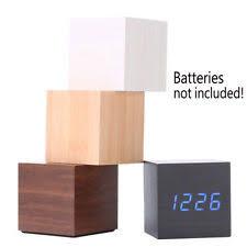 Wood Desk Clock Desk Clock Ebay