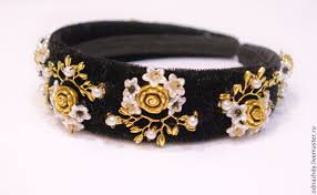 handmade headbands headband tiara baroque style dolce gabbana shop online on