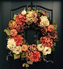 fall wreath thanksgiving wreath front door wreath