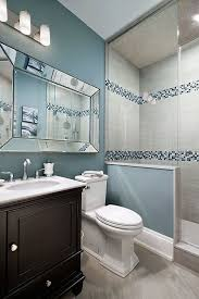 blue and beige bathroom best paint colors for bathroom walls the boring white tiles of