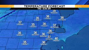 Sunrise Sunset Map Metro Detroit Weather A Serious Taste Of Winter