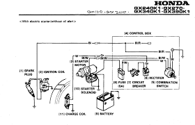 honda gx wiring diagram honda wiring diagrams instruction