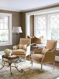 Beautiful Small Homes Interiors Interior Cozy Decoration With Beige Velvet In Walnut Frame