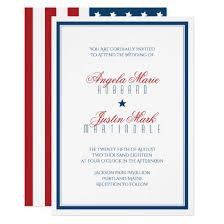 wedding cards usa vintage american flag patriotic usa wedding invite