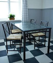Black Glass Dining Room Sets Cabinets Simple Dining Room Ideas With Dining Table Made Of Iro