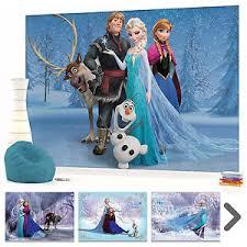 Frozen Elsa Bedroom Wall Mural Photo Wallpaper Picture Disney Frozen Elsa Anna Girls