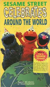 opening to sesame celebrates around the world 1994 vhs