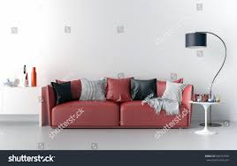 living room sofa lamp table big stock illustration 546707335 living room sofa lamp and table big blank wall in background 3d