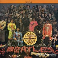 sargeant peppers album cover beatles foretaste sgt peppers lonely hearts club band vinyl lp
