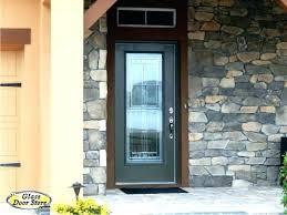 Exterior Doors Glass Fiberglass Exterior Doors With Glass Best Fiberglass Entry Doors