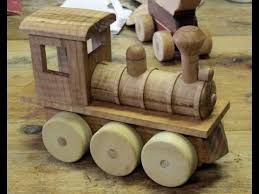 Plans For Wooden Toy Trains by Making A Toy Train Engine Youtube
